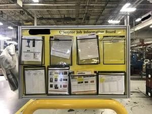 factory info board