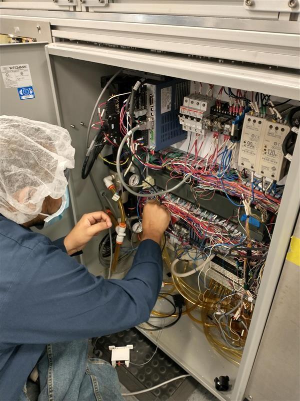 Rainin wiring DCM